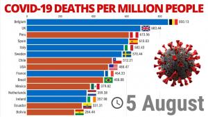 Covid-19 deaths per million people (2)