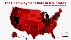 The Unemployment Rate in U.S. States