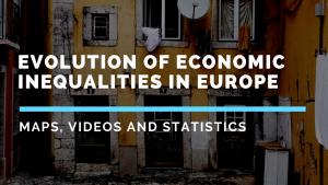Evolution of economic inequalities in Europe