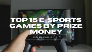 Top ESports Games by Prize Mone